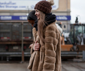 fashion, fur, and winter image