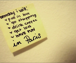 coffee, get lost, and post-it image
