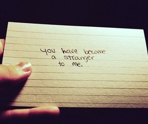 strangers, quote, and text image
