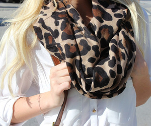 scarf, fashion, and shirt image