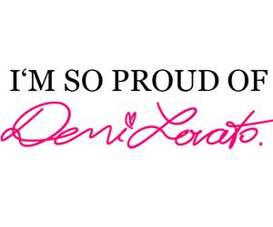 demi lovato, demi, and proud image