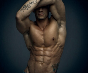 abs, boy, and man image