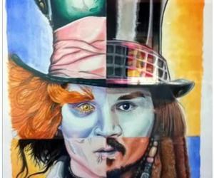 johnny depp, Willy Wonka, and jack sparrow image