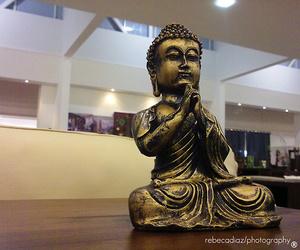 Buddha, golden, and china image