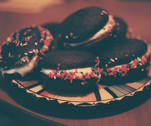 vintage, photography, and chocolate image