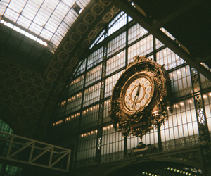 clock, photography, and vintage image