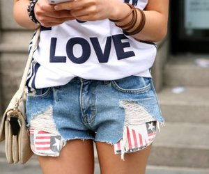 fashion, love, and girl image