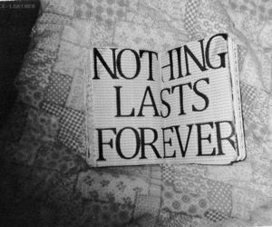 forever, nothing, and text image