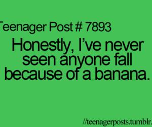 banana, funny, and true image