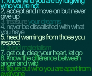 quote, heart, and list image