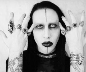 Marilyn Manson and rock image