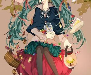 anime and miku image