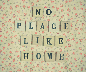 home, quote, and place image
