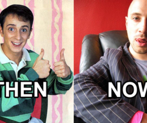funny, steve, and blues clues image
