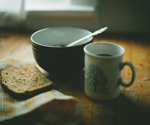vintage, photography, and breakfast image
