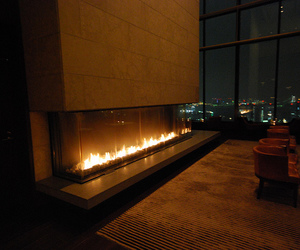 luxury, fireplace, and fire image