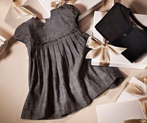 Burberry, dress, and girl image