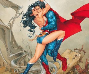 superman and wonder woman image