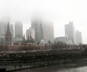australia, city, and fog image