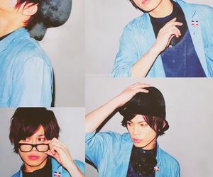 glasses, handsome boy, and hot boy image