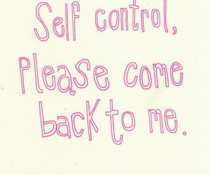 text and self control image
