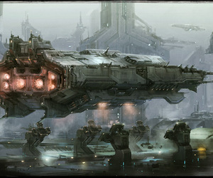 scifi and ship image