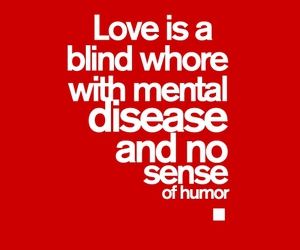 blind, mental, and love image