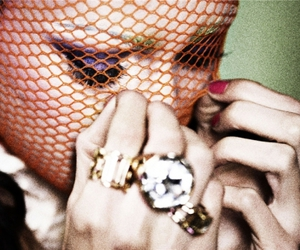 fashion, fishnet, and girl image