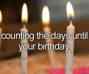 birthday, candle, and text image