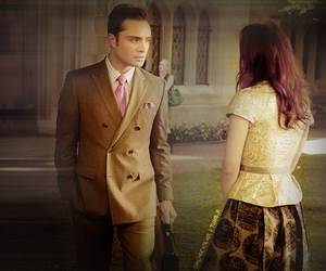 chuck and blair, leighton meester, and cute image