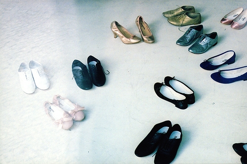 shoes, apc, and ballet image
