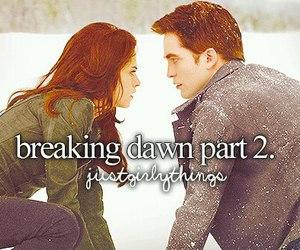 twilight, breaking dawn, and breaking dawn part 2 image