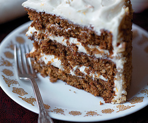 cake, cakes, and carrot cake image