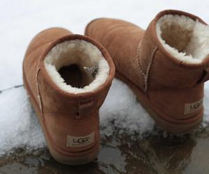 ugg, uggs, and winter image