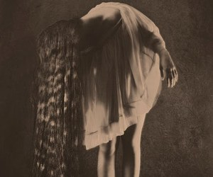 long hair, hair, and vintage image