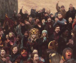 harry potter, luna lovegood, and hermione image