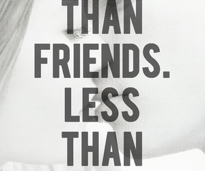 bff, quote, and black and white image