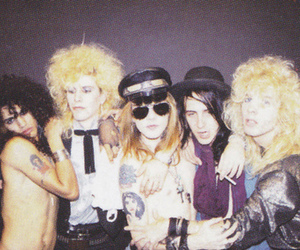 duff mckagan, glam, and Guns N Roses image