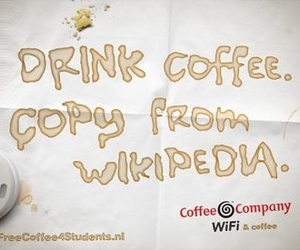 coffecompany, free coffee, and presentation image