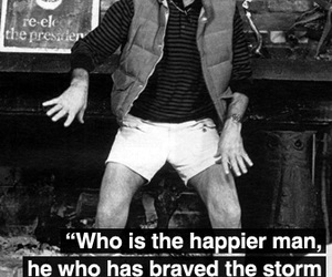 Hunter S. Thompson, Hunter Thompson, and quote image