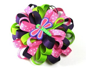 hairbow and ribbon image