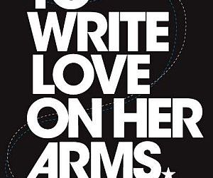 twloha, to write love on her arms, and arms image