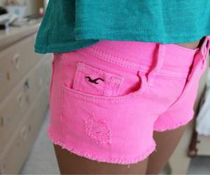 hollister, pink, and fashion image