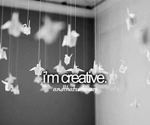 creative, me, and quotes image