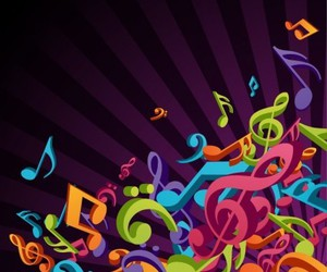 colores and notas musicales image