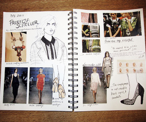 block, fashion, and notebook image