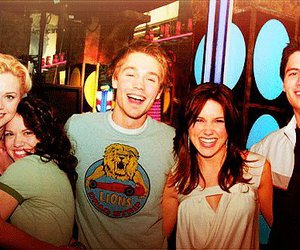 brooke davis, Hilarie Burton, and lucas scott image
