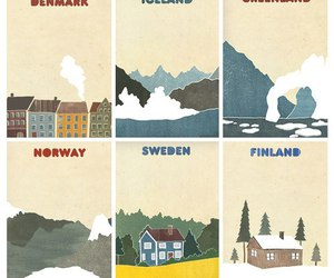 finland, norway, and denmark image