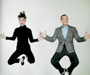 audrey hepburn, fred astaire, and funny face image