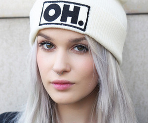 girl, hair, and oh image
